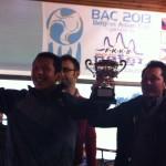 アジアカップ2013表彰式