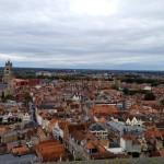 Brugge 鐘楼から